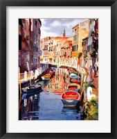 Framed Venetian Reflections II