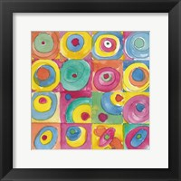 Framed Circles Bright