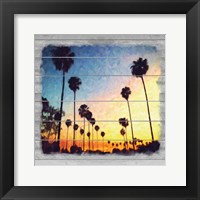 Framed Down Sunset Strip