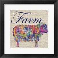 Framed Sheep Farm