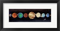 Framed Planets In The Galaxy