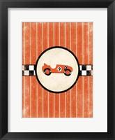 Framed Race Car Nine