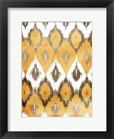 Earth Flames Framed Print