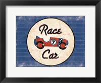 Framed Race Car Blues