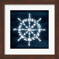 Framed Shell Wheel Deeper Blue