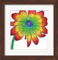 Framed Bright Fun Time Flower Mate