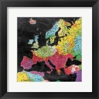 Bright World Framed Print