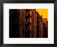 Framed Fire Escapes