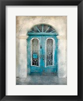 Framed Teal Doorway