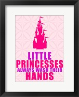 Little Princesses Hands Framed Print