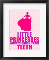 Little Princesses Framed Print