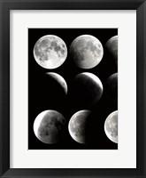 Moon Phase 1 Framed Print