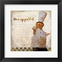 Framed Bon Appetit 2