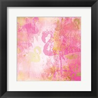 Framed Flamingo Pink 2