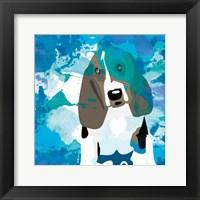 Framed Dog in Color 1