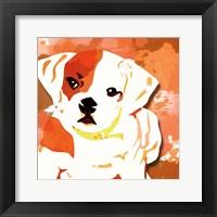 Framed Dog in Color 2