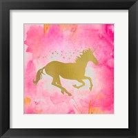 Framed Unicorn Square 1