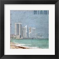 Framed Miami Beach