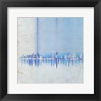 Framed Miami in Blue