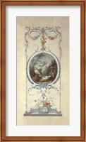 Framed Panelled Detail of Doves