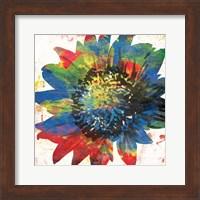 Framed Flower On The Bright Side