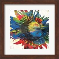 Framed Flower On The Bright Side Mate