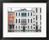 Framed Venice Canals 1