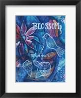 Blossom Where You Are Framed Print