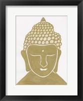 Budahh Gold Framed Print
