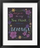 Forever Beautiful Framed Print