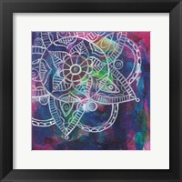 Tubular Flower Framed Print