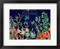 Framed Midnight Garden