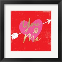Framed Valentines Day Heart 5