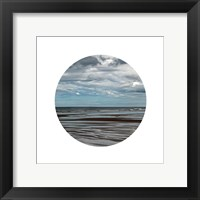Window Into The Sea 2 Framed Print