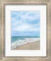 Framed Summertime Breeze Beach