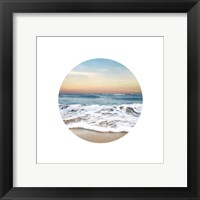 Framed Waves To Sea 1