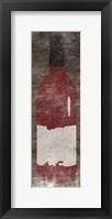 Vintage Bottle Framed Print