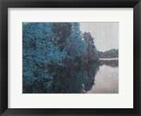 Framed Blue Bayou