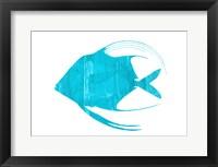 Framed Angel Blue
