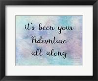 Trevel Adventures Framed Print
