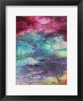 Fifth Dimensional Color Drift Framed Print