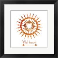 Follow The Sun 2 Framed Print