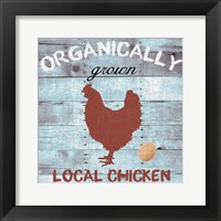 Organically Grown Framed Print