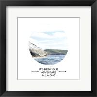 Your Adventure Framed Print