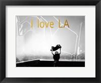 Framed LA Gold