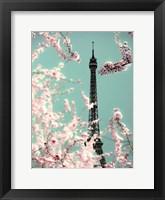 Framed Spring Eiffel Green