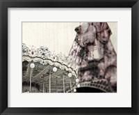 Framed Vintage Carousel
