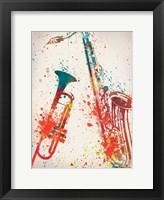 Jazz 2 Framed Print