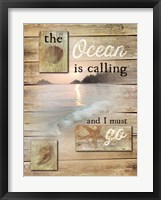 Framed Ocean is Calling
