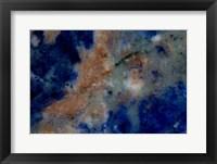 Framed Blue Sodalite